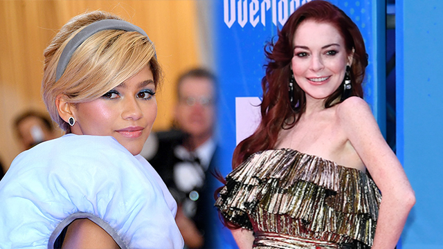 Lindsay Lohan Couldn't Keep Her Snarky Comments to Herself At Zendaya's Met Gala 2019 outfit