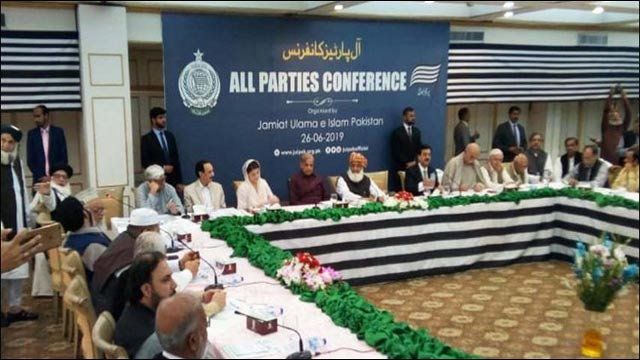 Opposition's APC Commences in Islamabad