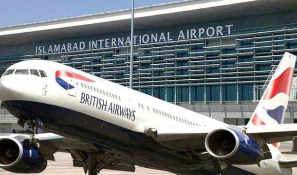 British Airways issues schedule of direct flights from Lahore to London