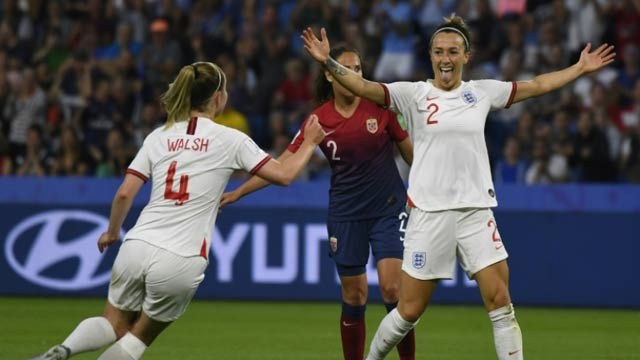 England Qualifies For FIFA Women's World Cup Semi-Finals