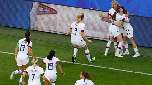 US Tops Group 'F' In FIFA World Cup