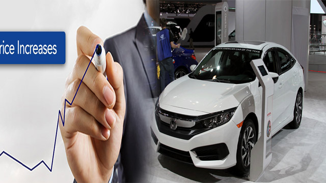 Honda Cars Get Increase in Prices By Up to Rs425,000