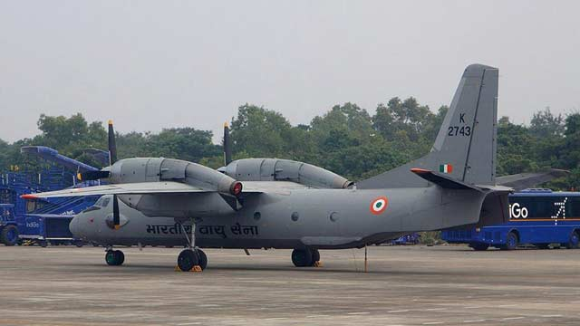 IAF's Aircraft With 13 People On Board Goes Missing