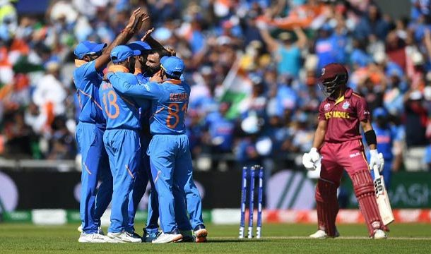 India Moves Closer to Semi-Finals After Crushing West Indies