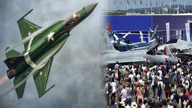 Pakistan's JF-17 Wins Paris Air Show By Its Static Aerial Display