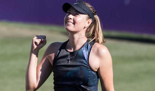 Sharapova Makes Victorious Come Back After Injury