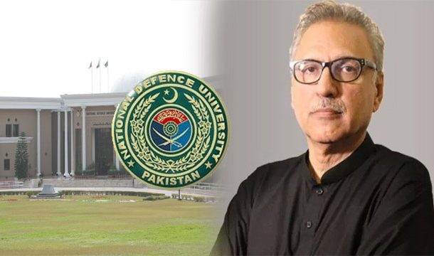 Alvi Appreciates NDU For Grooming Future Military Leadership
