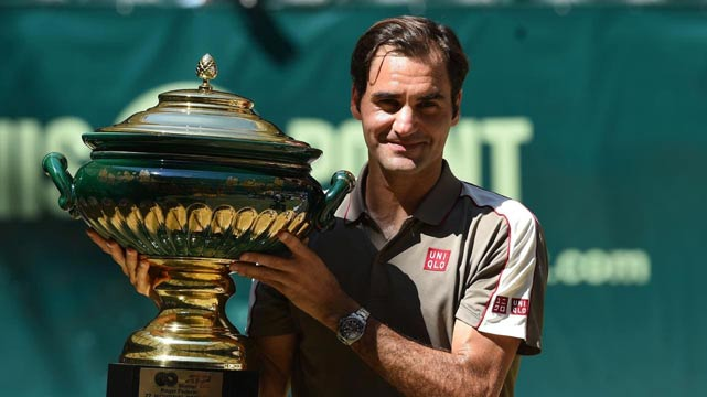 Roger Federer Clinches 10th Halle Title