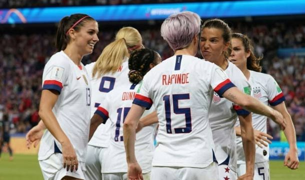 USA Oust France From FIFA Women's World Cup