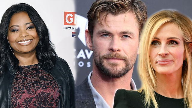 Chris Hemsworth, Julia Roberts, Octavia Spencer and Batman Gets Hollywood Walk of Fame Honors