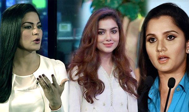 Tuba Aamir Liaquat Shows her Anger Out On Sania Mirza for Attacking Veena Malik