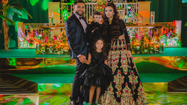 Boxer Amir Khan and his wife, Faryal Makhdoom spent a Whopping £75,000 on their Second Daughter, Alayna's First Birthday