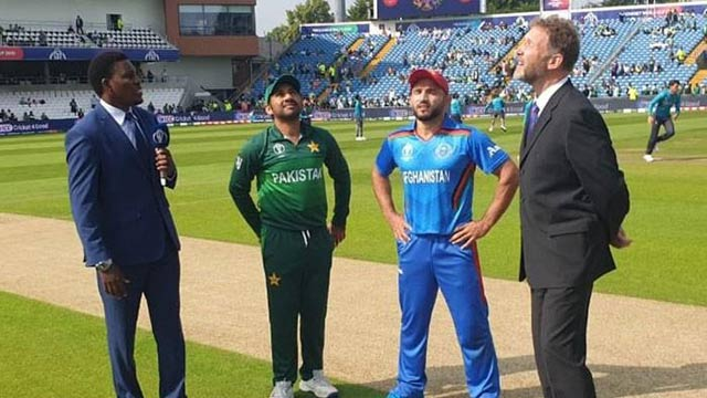 ICC WC: Afghanistan Win Toss, Opt to Bat First Against Pakistan