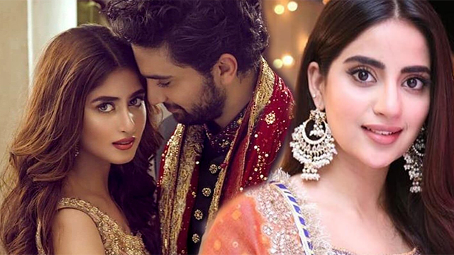 Saboor Aly Shares a Beautiful Message for Sister Sajal Ali on her Engagement with Ahad Raza Mir