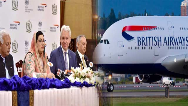 British Airways Resumption An Expression of Trust on Pakistan