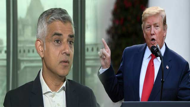 Trump Insults London Mayor, Calls Him 'Loser'