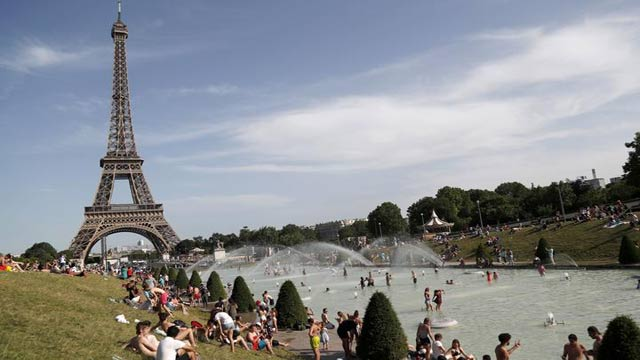 France Records All Time Highest Temperature
