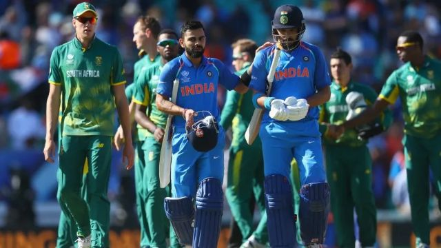 India Beat South Africa in Cricket World Cup