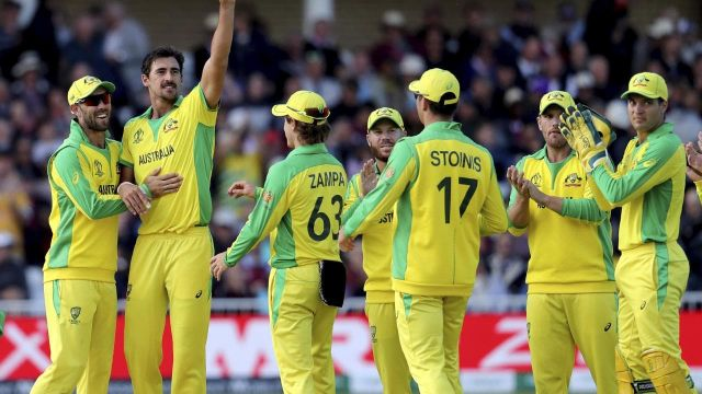 ICC WC: Australia Beat West Indies In a Nail Biting Match