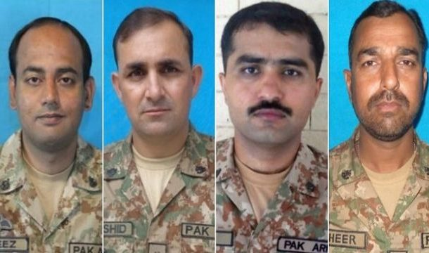 North Waziristan: 4 Army Officers Martyred in IED Blast