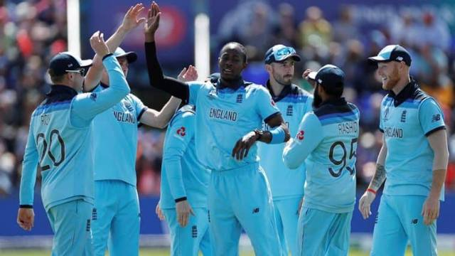 England Record Their Highest Ever World Cup Total