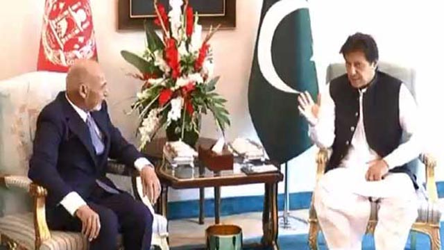 Ghani, Khan Discuss Bilateral Ties In One-On-One Meeting
