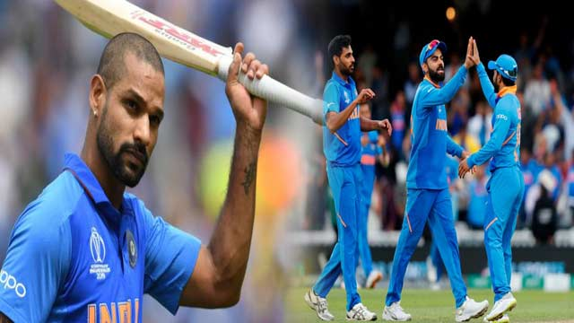 World Cup: Dhawan Shines as India Stuns Defending Champions Australia