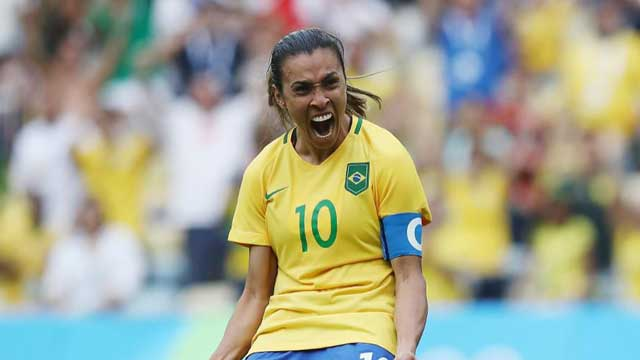 Brazilian Footballer Dedicates Historic Record to Equality Warriors