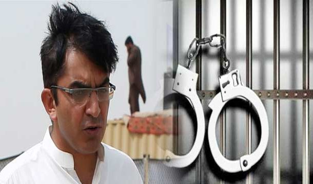 PTM Leader Mohsin Dawar Shifted to Peshawar Jail