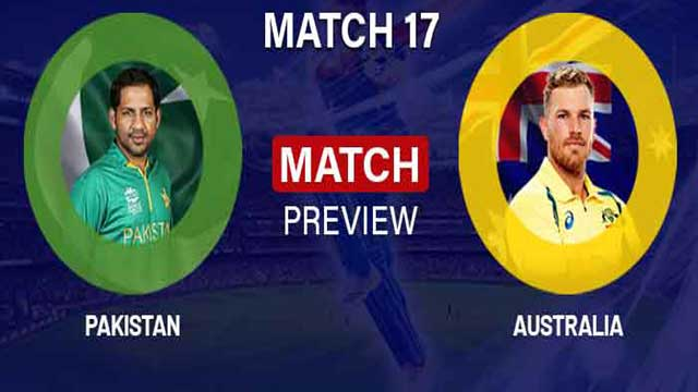 Pakistan to take on Australia today in17th WC Match