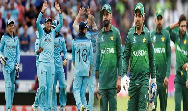 Pakistan Decided for Batting after Winning the Toss against England