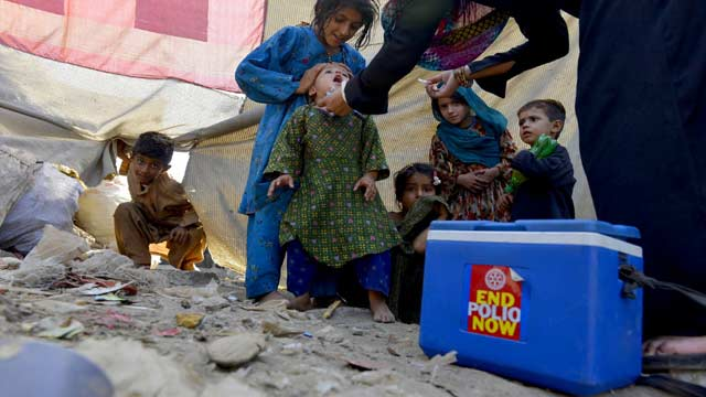 Sindh: 5.5 Million Children Will be Vaccinated In Anti-Polio Campaign