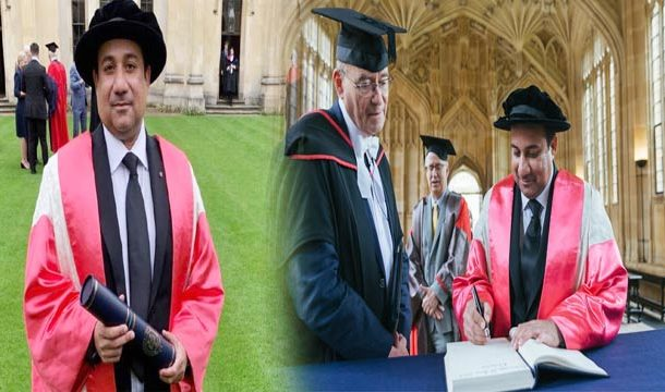Rahat Fateh Ali Khan Receives Honorary Degree From Oxford