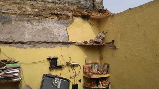 Roof Collapse in Kohi chowk, Two dead