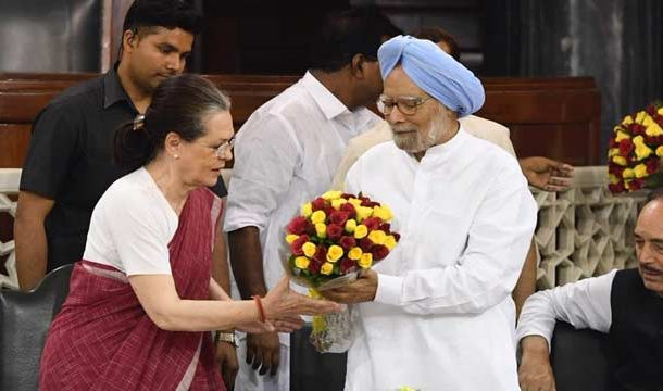 Sonia Gandhi to Lead Congress Lawmakers in Parliament