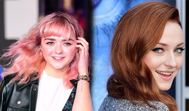 Sophie Turner Wishes to write a movie on her friendship with Maisie Williams