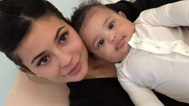 Kylie Jenner Shares Adorable Pictures of Her Daughter, Stormi, And The Fans Have A Lot to Say