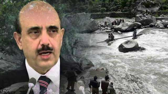 AJK President, People Affected by the Floods is on Top Priority.