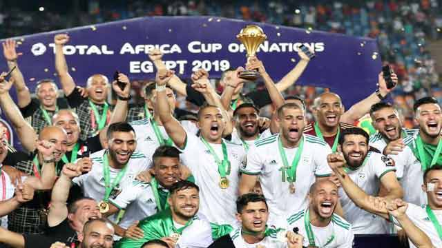 Algeria Wins Title of Africa Cup of Nations