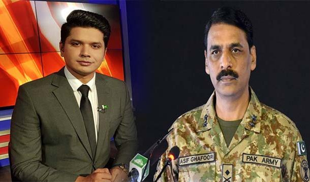 DG ISPR Expresses Grief Over Murder Of TV Anchor