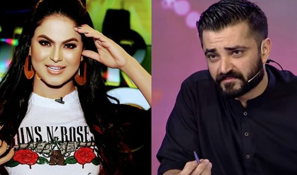 Veena Malik Takes A Dig At Hamza Ali Abbasi After he Defended Iqra Aziz and Yasir Hussain for Their Post-Engagement PDA