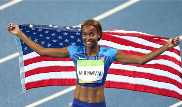 Dalilah Muhammad Breaks World Record in Women's 400m Hurdles