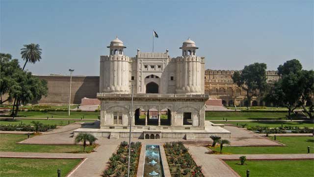 Entrance Gate of Lahore Fort Collapse After Heavy Rain