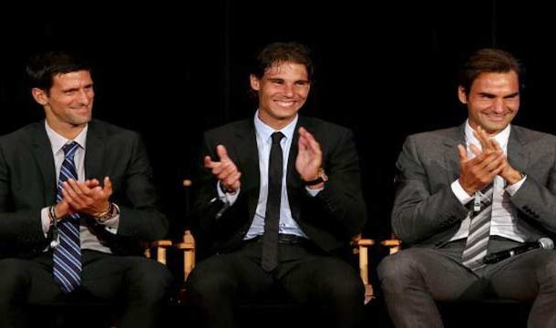 Federer, Djokovic, Nadal Float Into Wimbledon Quarters