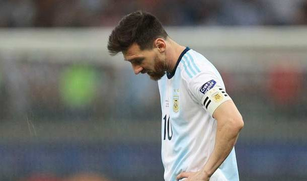 Messi Fails Again to Save His Team in Copa America