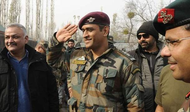 Dhoni Set to Perform Guard Duties of Territorial Army In Kashmir