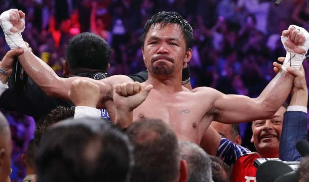 Manny Pacquiao Beats Thurman For Welterweight Crown