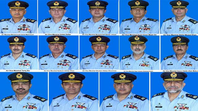 PAF Announces Promotions on Senior Ranks