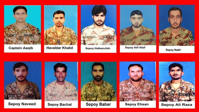 Ten Security Forces Personnel Sacrifice Their Lives For Regional Peace