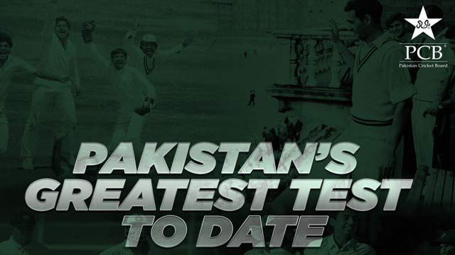 Voting For Pakistan's Most Memorable Test Match Begins
